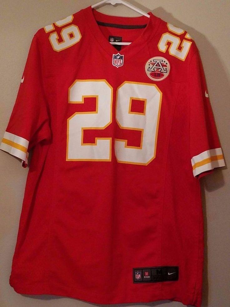 Nike NFL AFC Jersey Kansas City Chiefs # 29 Eric Berry Mens Size M #KansasCityChiefs