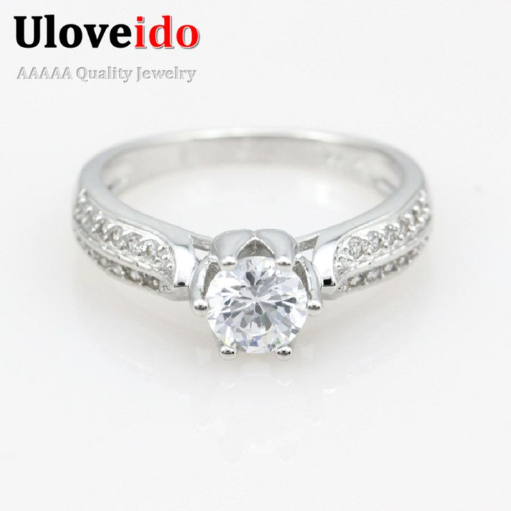 Find More Rings Information about New White Topaz Amethyst Wedding Rings Set for Women Silver Big Finger CZ Diamond Silver Ring 2015 Aneis Jewellery Ulove Y027,High Quality ring canary,China ring flash Suppliers, Cheap ring washer from ULOVE Fashion Jewelry on Aliexpress.com