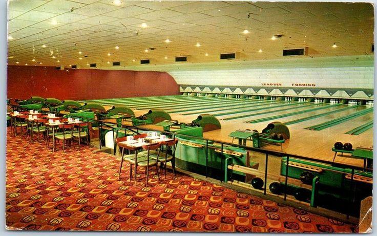 East Patterson New Jersey Postcard Martone Lanes Bowling