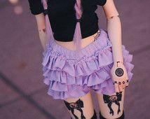 Pastel Lace Frilly Shorts - 3 COLORS - BJD 1/4 1/3 SD13 MSD Boy Girl Pastel Goth