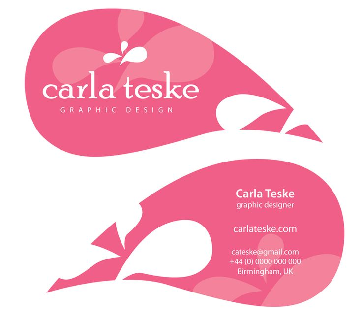 Carla Teske business card