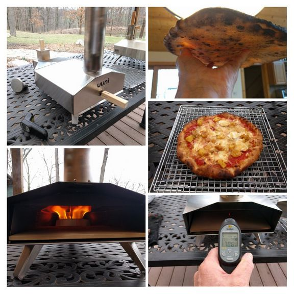 The definitive tool for your outdoor kitchen - Fire it to 900ºF in 15-20 minutes, turn out a fabulous wood fired pizza in under 2 minutes.