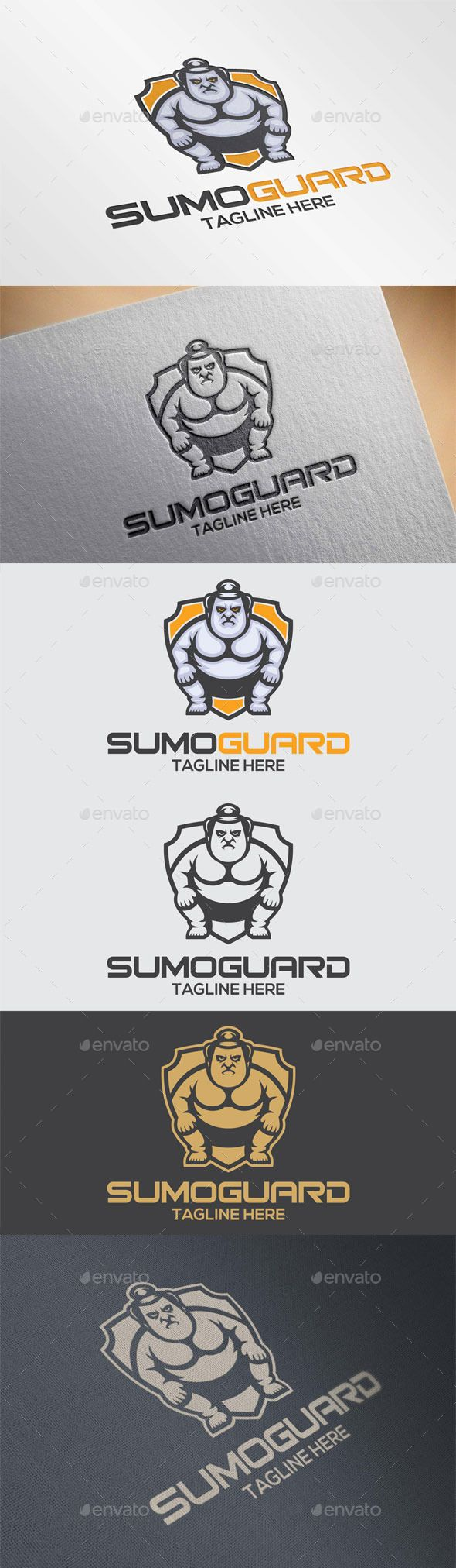 Sumo Guard Logo Template — Vector EPS #power #vector • Available here → https://graphicriver.net/item/sumo-guard-logo-template/12017717?ref=pxcr