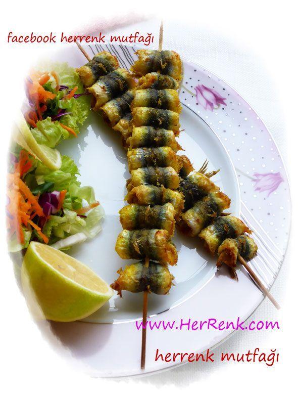 Hamsi Çöp Şiş-hamsi,hamsi tarifleri,balık,balık tarifleri,misafir için,hamsili pilav,fırında hamsi,hamsili yemekler,tarif,balık ve deniz ürünleri,fırında balık tarifleri,balık yemekleri,fırında balık,balık,