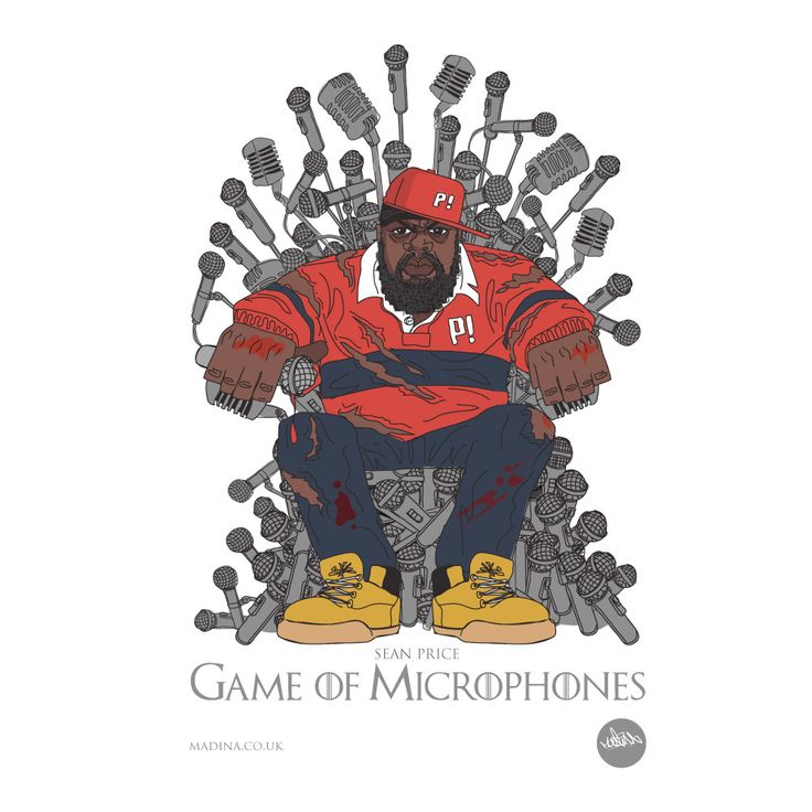 Game of Microphones - Game of Thrones meets #HipHop Legend - Sean Price RIP