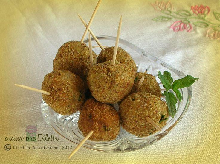 Crocchette di melanzane, ricetta finger food - cucina preDiletta