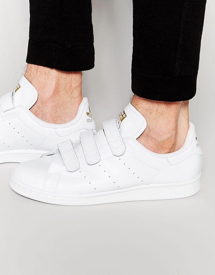 adidas+Originals+Stan+Smith+Velcro+Trainers+S75188