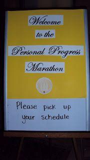 Personal Progress Marathon
