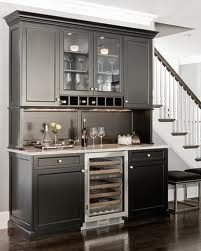 Dry Bar Layout Idea For Downstairs May Recommend Floating Shelves Above Instead Of Cabinets To