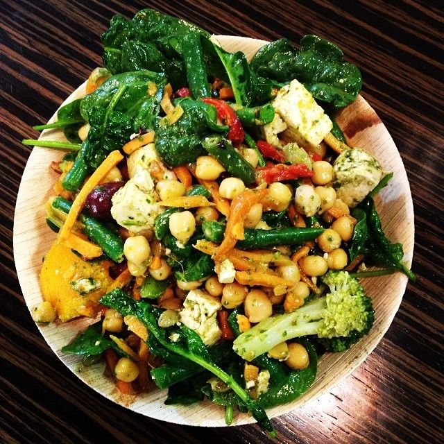 "@rubycherry100's photo: ""Hello Dinner! This Green Pesto Salad is just amazing """
