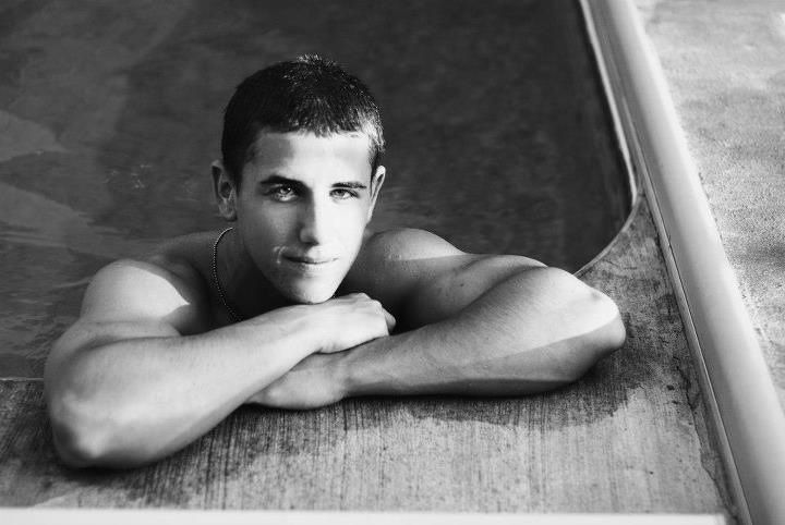 Swimming senior picture