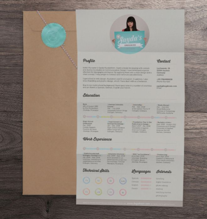 27 best Designer CV images on Pinterest Cv design, Editorial - junior graphic designer resume