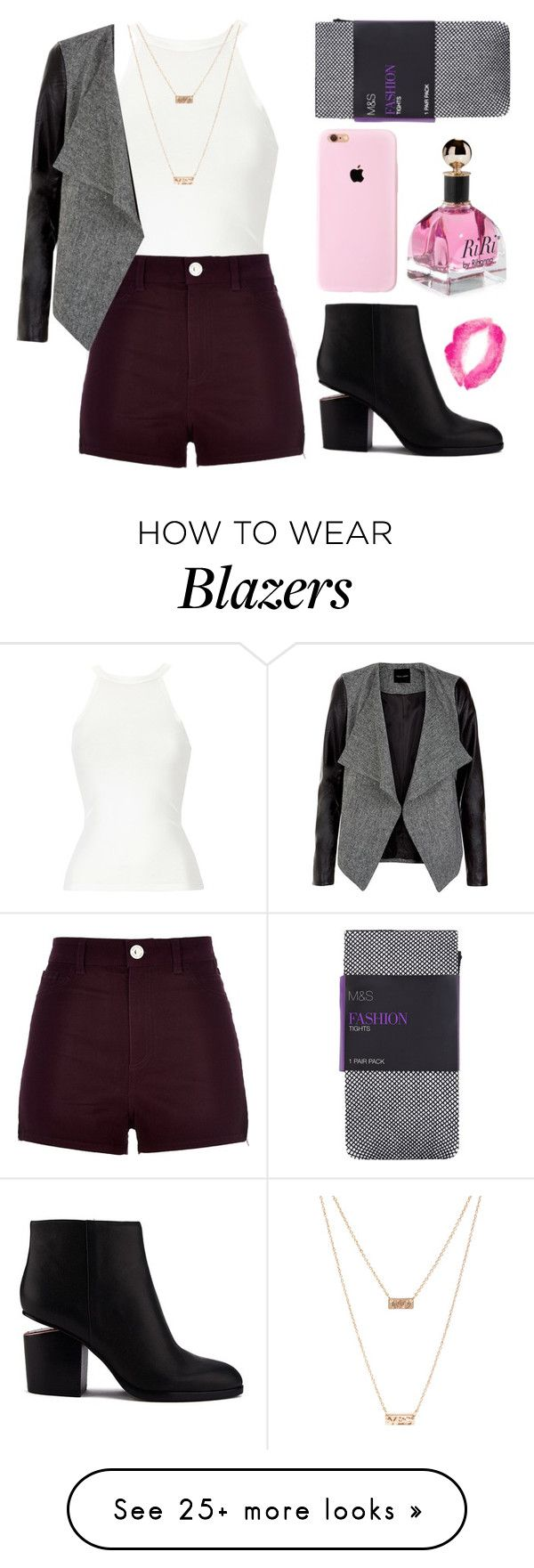 """Fame changes you"" by zzeelleestyles on Polyvore featuring River Island, Alexander Wang, Topshop and ASOS"