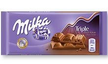 Milka Triple Choco κακάο