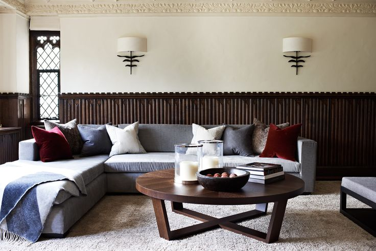 Tour a 100-Year-Old English Country Manor Updated for Modern Family Living