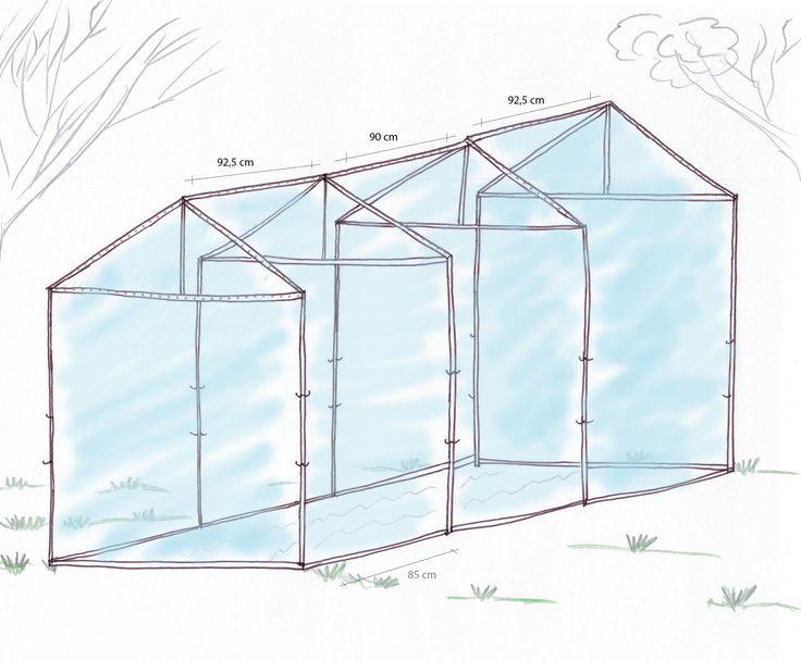 die besten 17 ideen zu gew chshaus selber bauen auf. Black Bedroom Furniture Sets. Home Design Ideas