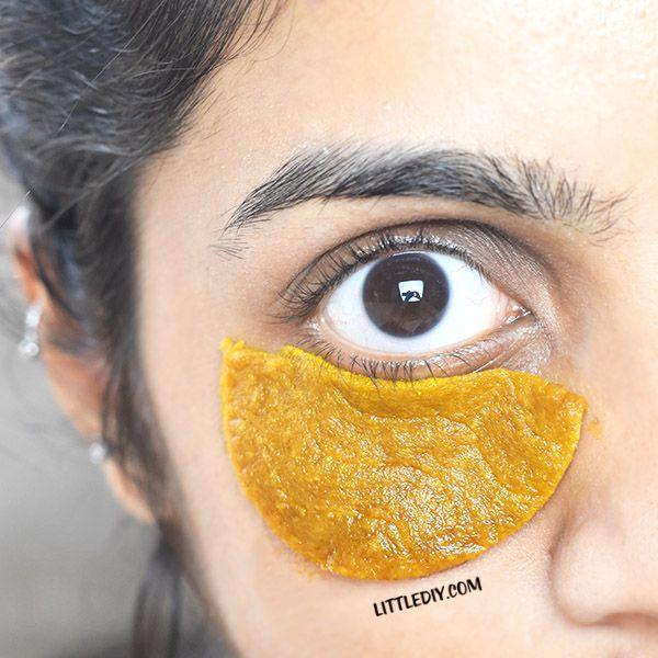 OVERNIGHT TURMERIC EYE PADS FOR DARK CIRCLES | Eye care ...