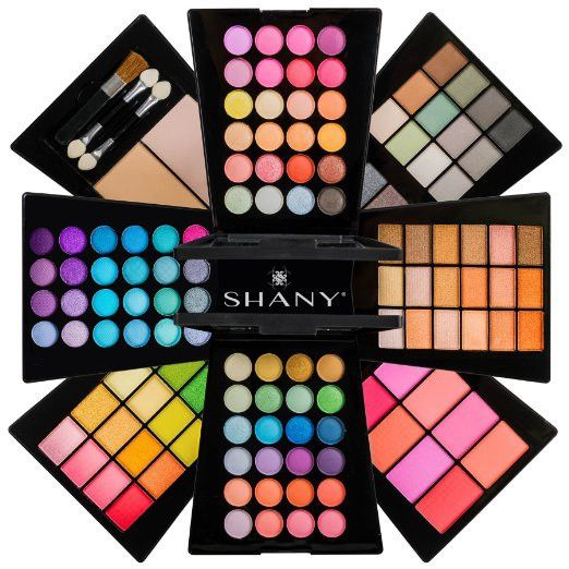 Beauty Cosmetics Makeup Palette  All-in-One Makeup Set with Eyeshadows, Face Powders, Blushes