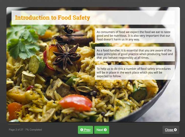 Online Food And Hygiene Course Eho Approved