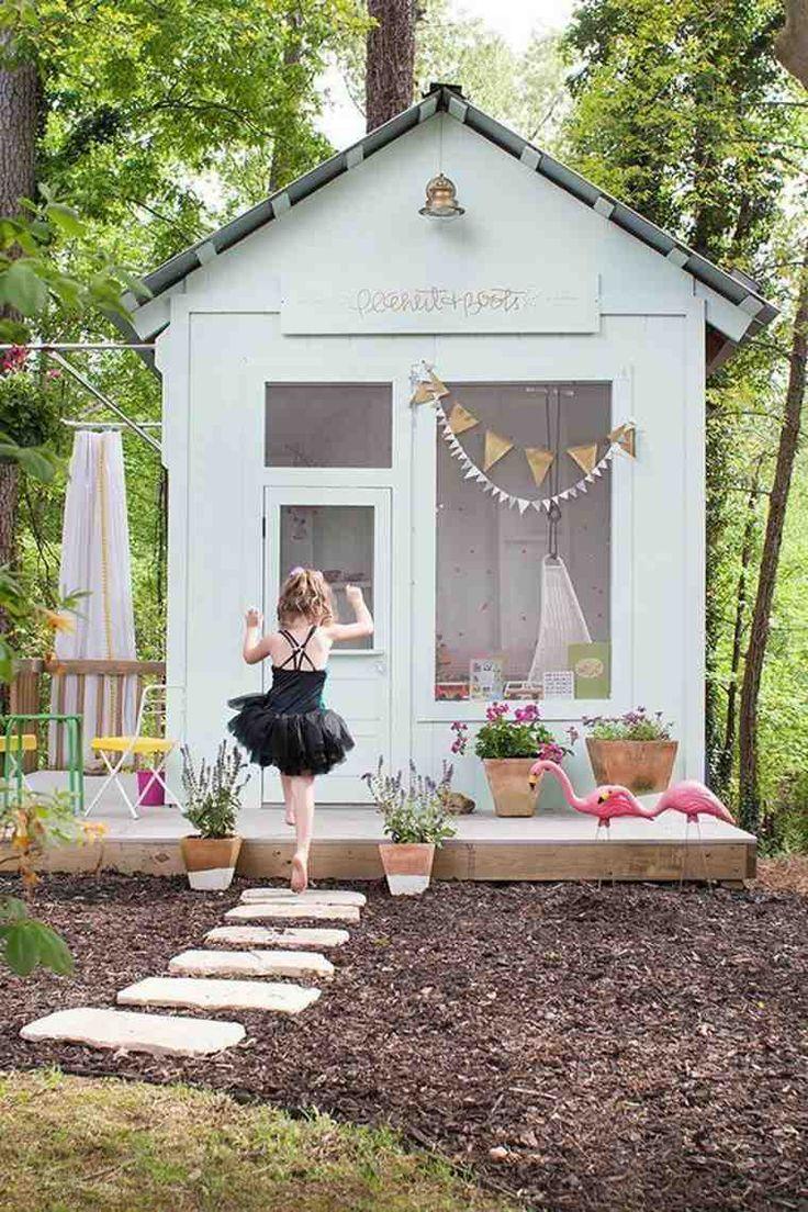 Cabane De Jardin Enfant En 50 Projets 224 Faire Soi M 234 Me