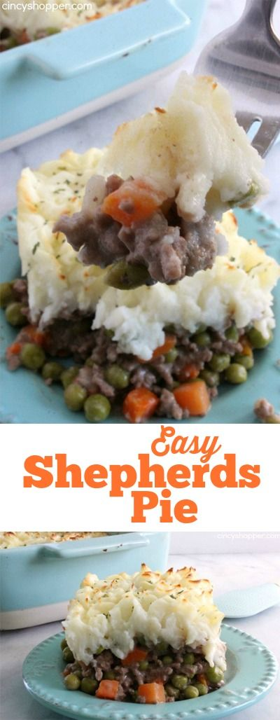 Easy Shepherd's Pie Recipe-