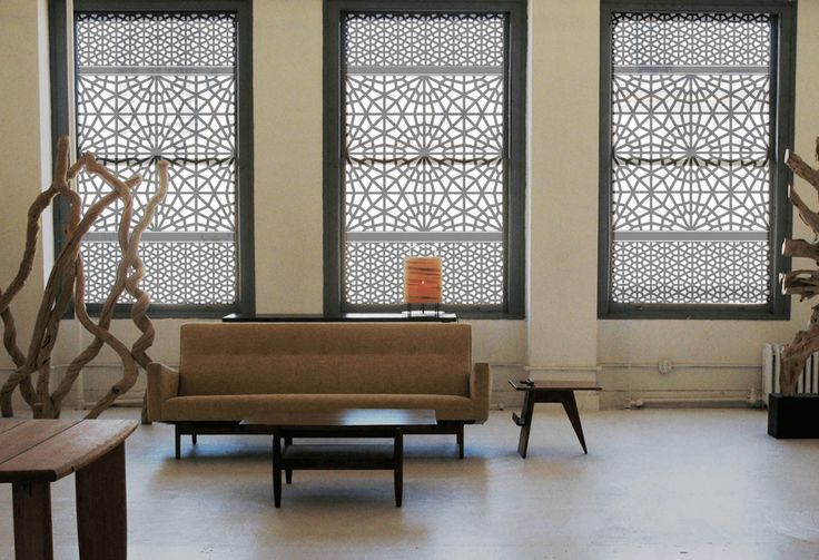 Modern Window Treatment Ideas to Protect Privacy and Add Style - http://freshome.com/modern-window-treatment-ideas/