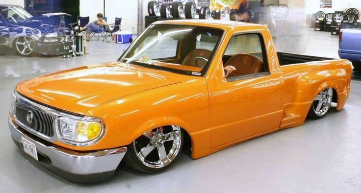 Tricked Out 1993 Ford Ranger Sport Truck Lowrider