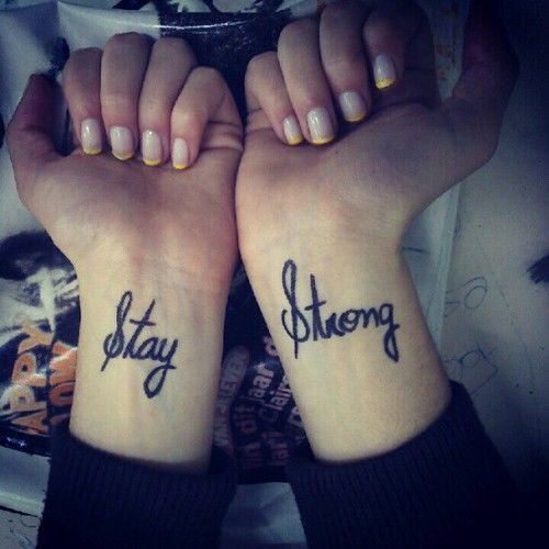 17 Best Ideas About Strong Tattoos On Pinterest