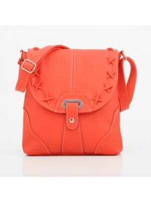 GEORGIE LADIES #RED #CROSSBODY #BAG #PrettyStyle