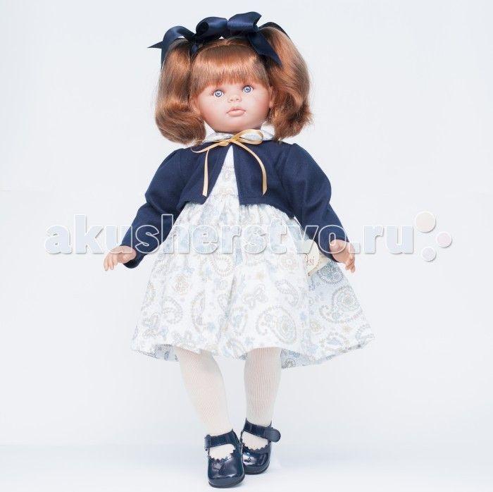 ASI Кукла Пепа 60 см 283010  Кукла, размер 60 см, тело мягконабивное, голова, руки и ноги из винила, рыжие волосы собраны в два хвостика, в синем комплекте, в красивой подарочной коробке.