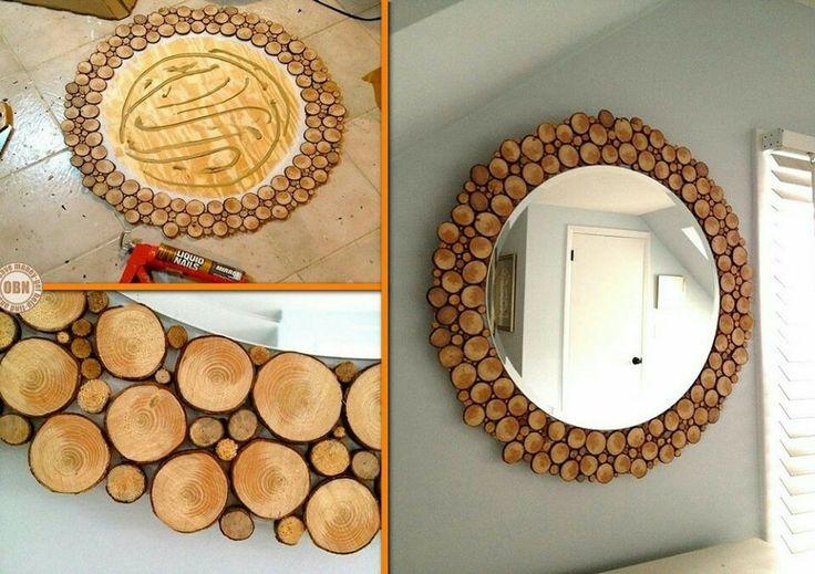 Manualidades de decoraci n bricolaje f cil and proyectos - Manualidades con maderas ...