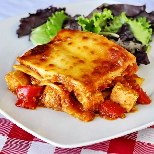 Chicken Parmesan Lasagna Chicken Parmesan Lasagna Even When Made With Leftover Chicken This