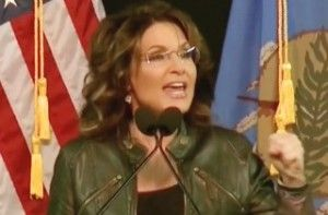 Gold star to any journalist willing to ask Sarah Palin if her son Track should own a gun. This article >>>>
