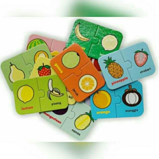 Saya menjual FLASH CARD PUZZLE BILINGUAL What Fruit seharga Rp30.000. Dapatkan produk ini hanya di Shopee! http://shopee.co.id/mainan.edukatif/3847279 #ShopeeID