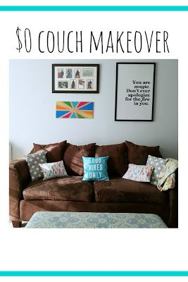 perry made: $0 couch makeover