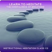Learn to Meditate The Mindfulness of Breathing.  Easy to follow meditation class lead by the fabulous Rae Roberts.