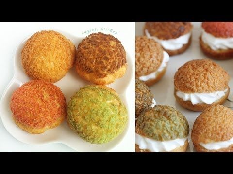 Choux au Craquelin - Crunchy Cream Puff Recipe