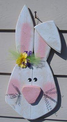 Bunny Door Hanger, Easter & Spring Crafts