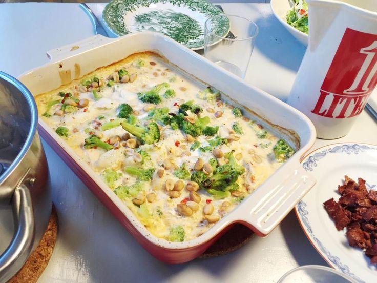 Middagstips: Recept på flygande Jakob med fisk