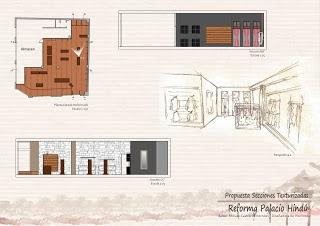 Propuesta de reforma Palacio Hindú. 1. Para ver más sobre el proyecto, pinchar en la imagen y os lleva al blog