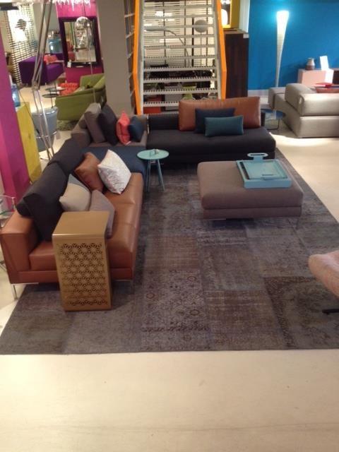 Showroom Combo Design - Augustus 2014: Aikon Lounge hoekopstelling - Design on Stock.