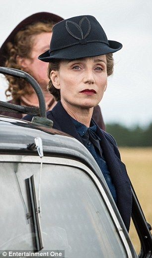 Kristin Scott Thomas as Madame Angellier in the film Suite Francaise. This is one I would like to see.