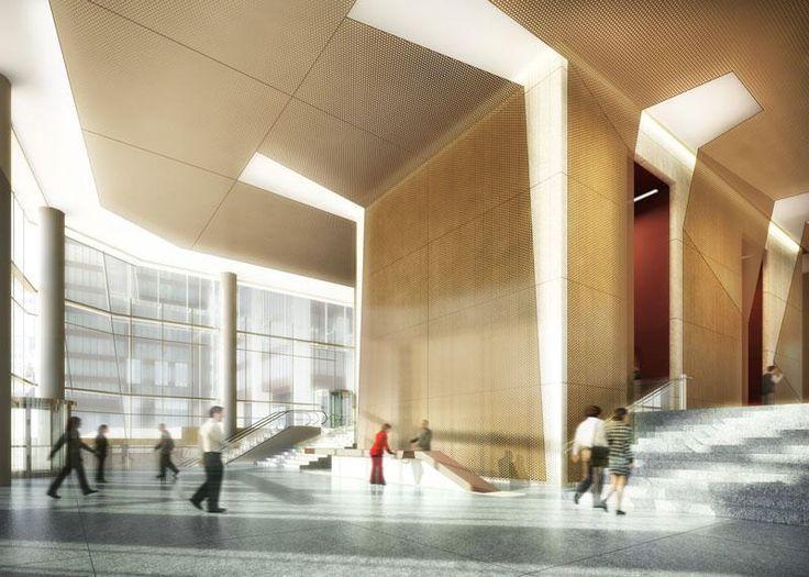 The 25+ best Office building lobby ideas on Pinterest | Office ...