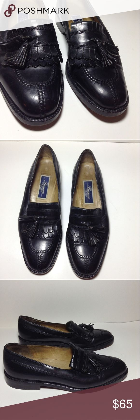 Bragano by Cole Haan Black Leather Loafers kiltie Bragano by Cole Haan black leather Kiltie tassels loafers shoes slip ons. Size 9.5D. Pre-owned in excellent condition with minimal wear. If you have any questions please leave a message below. Cole Haan Shoes Loafers & Slip-Ons