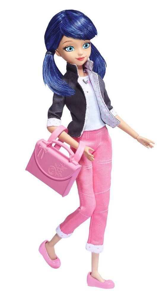 """Bandai Miraculous Ladybug Marinette Dupain-Cheng 10.5"""" Fashion Doll"""