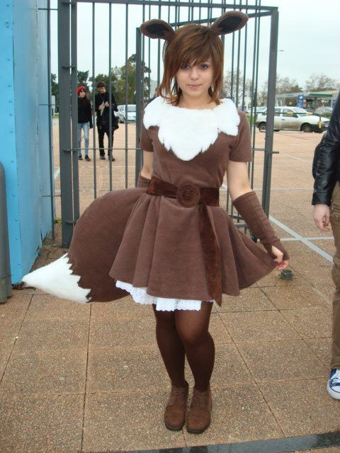 deviantART: More Like Gijinka Eevee Cosplay Design by ~Wickedinnocence92192