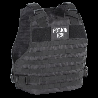 Voodoo Tactical Police ICE Plate Carrier Vest Black--S/M