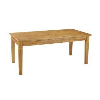craquez pour cette grande table de ferme en pin massif avec sa rallonge de 50 cm cette table est idale pour des repas conviviaux en famille ou entre - Table De Repas Avec Rallonge