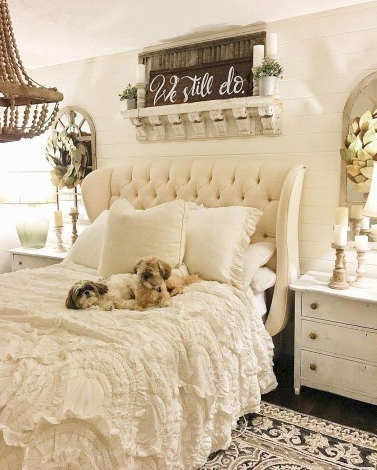 20+ Cute Shabby Chic Bedroom Design Ideas For Your Daughter