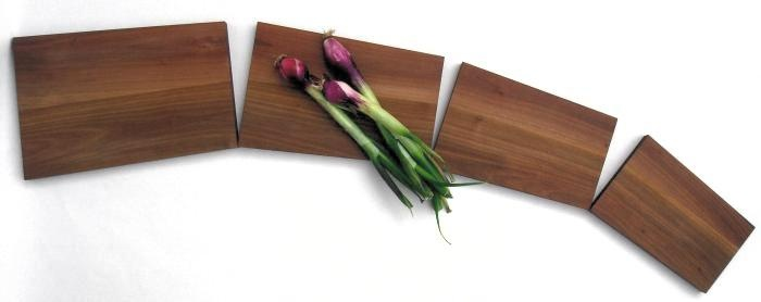 oak cutting board centerpiece Salenero /the Musicians